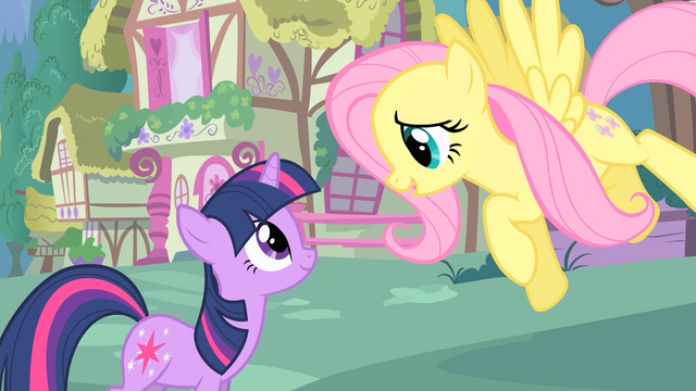 "File:Twilight and Fluttershy ""where are you off to?"" S1E17.png"