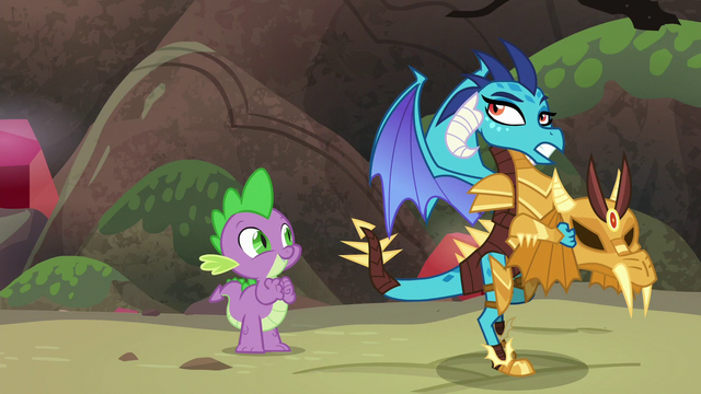 "File:Ember ""whatever pony friends do"" S6E5.png"