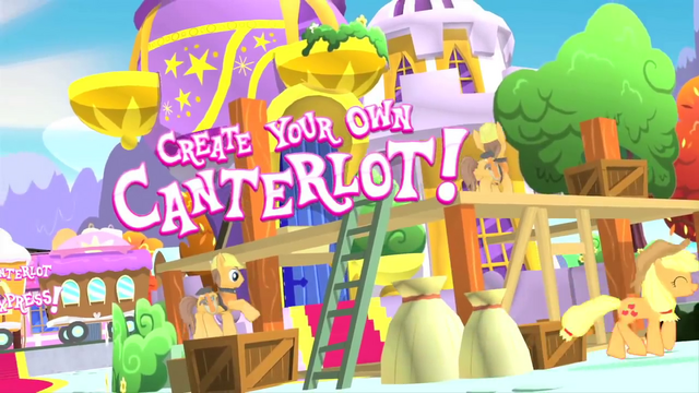 File:My Little Pony mobile game - Create your own Canterlot!.png
