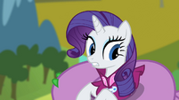 Rarity horrible as it is S2E10