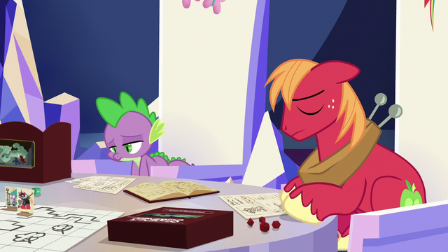 File:Spike and Big Mac feeling ashamed S6E17.png