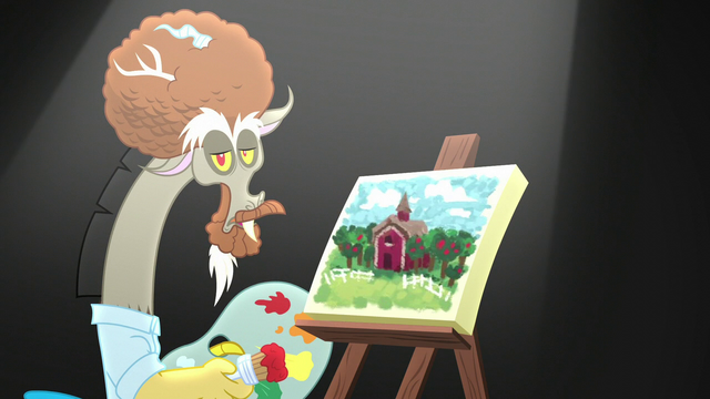 """File:Discord """"we were all at Sweet Apple Acres"""" S5E22.png"""