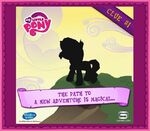 MLP mobile game Sunset Shimmer clue 1