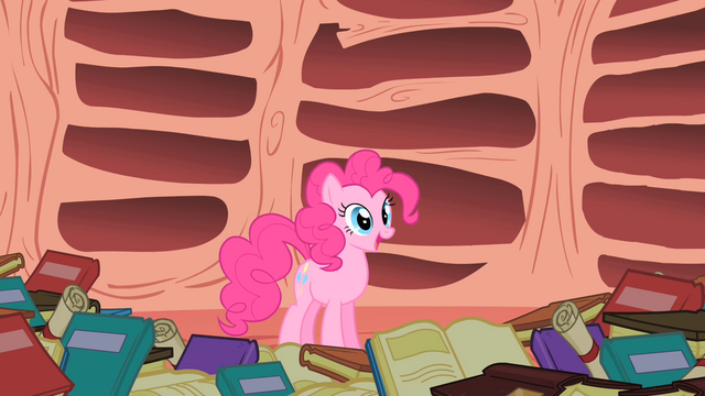 "File:Pinkie Pie ""A sonic boom and a rainbow can happen all at once"" S1E16.png"