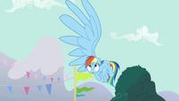 Rainbow Dash's big wing S3E5