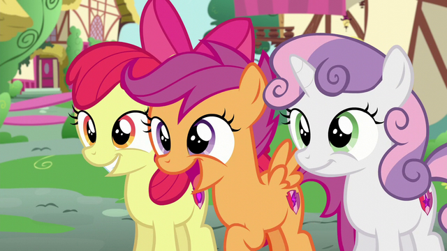 File:The CMC seeing somepony S6E4.png