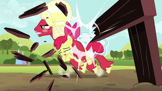 File:Orchard Blossom breaks through hurdle S5E17.png