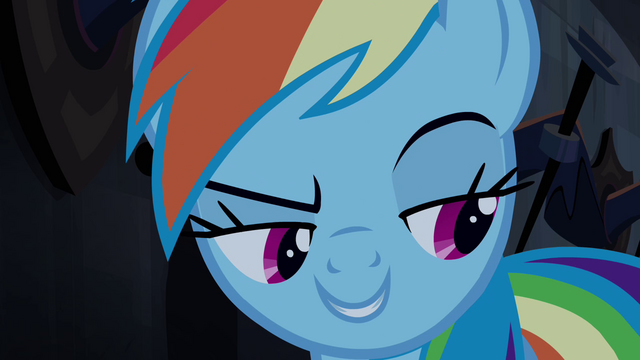 File:Rainbow thinks Applejack's hoof is around her S4E03.png