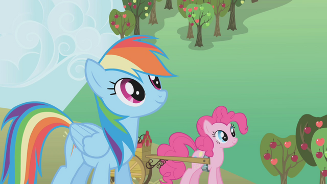 File:Rainbow and Pinkie take a break S1E04.png