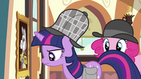 Twilight looking at portrait S2E24