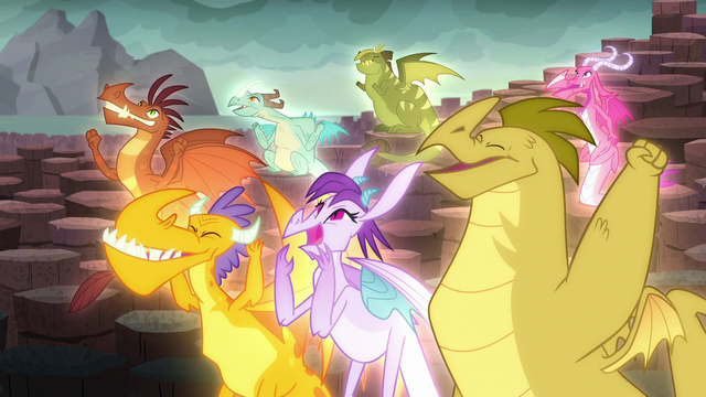 File:The dragons cheer S6E5.png