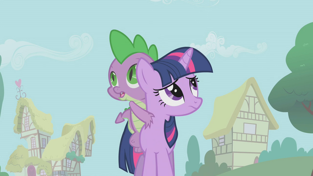 File:Twilight and Spike looking around S1E09.png