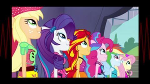 Italian Non-VoiceOver Equestria Girls Rainbow Rocks Shine Like Rainbows HD