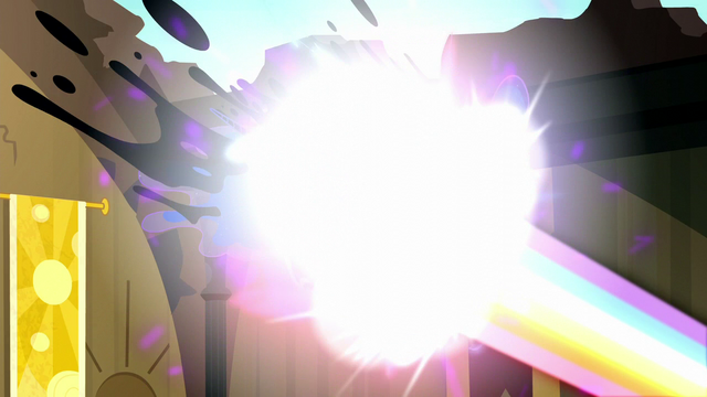 File:Rainbow Power melts Nightmare Moon away S5E13.png
