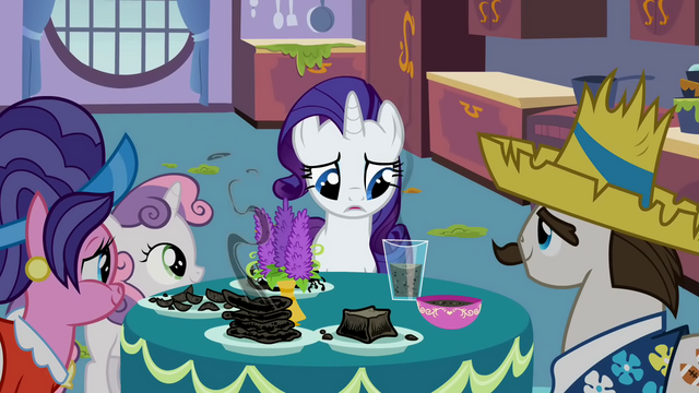File:Rarity's family at the breakfast table S2E5.png