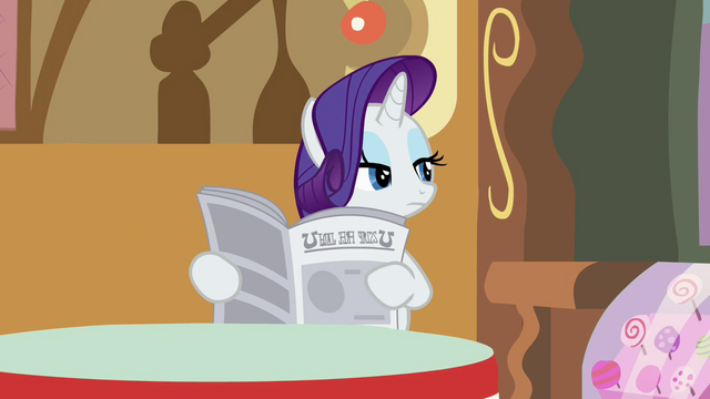 File:Rarity looking through the newspaper S2E23.png