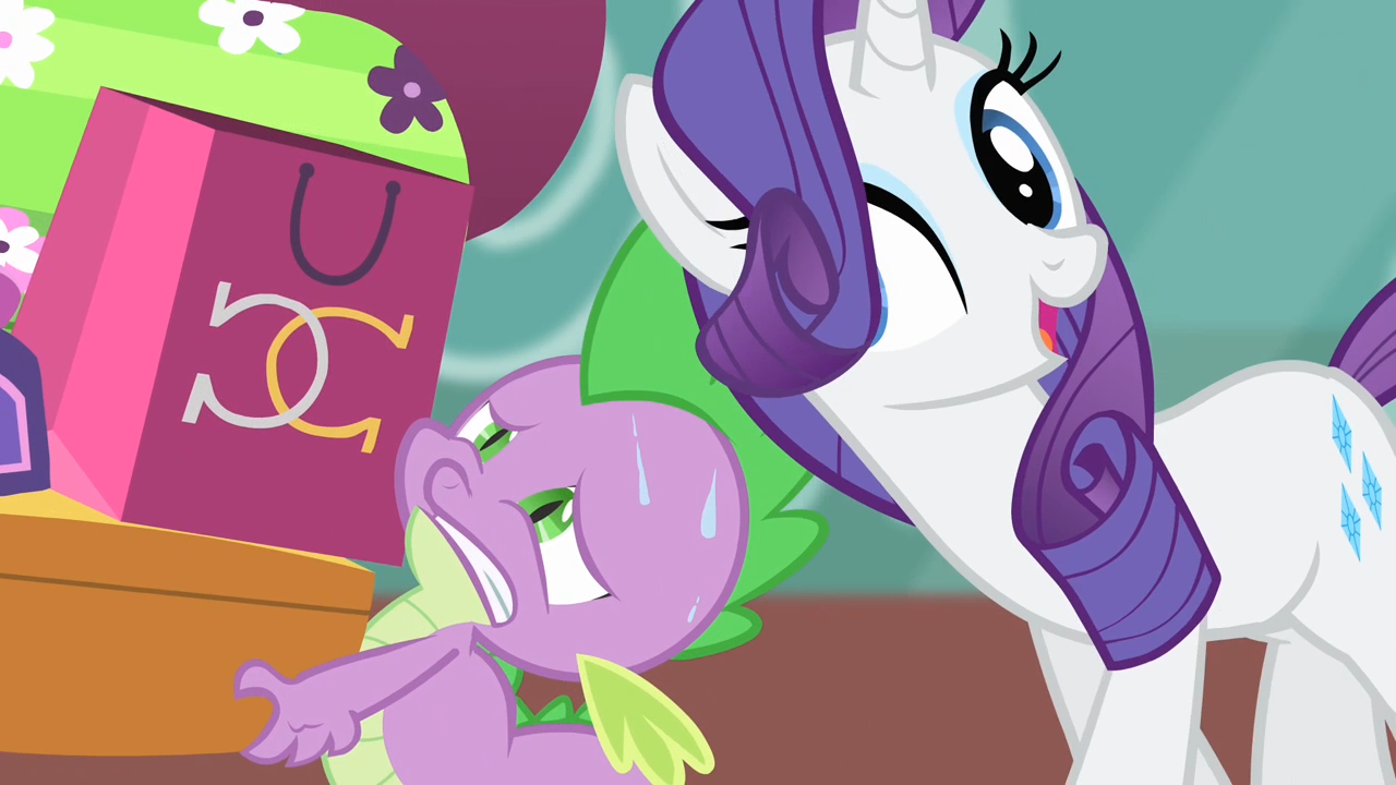 Image - Rarity Singing Towards Spike S4E08.png