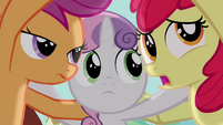 "Apple Bloom ""I don't want them laughing"" S4E15"