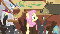 Fluttershy uh... don't eat me S3E13