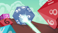 Spell aiming at a multi-sided die S6E17