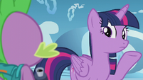 "Twilight ""his spell just went back a week"" S5E25"