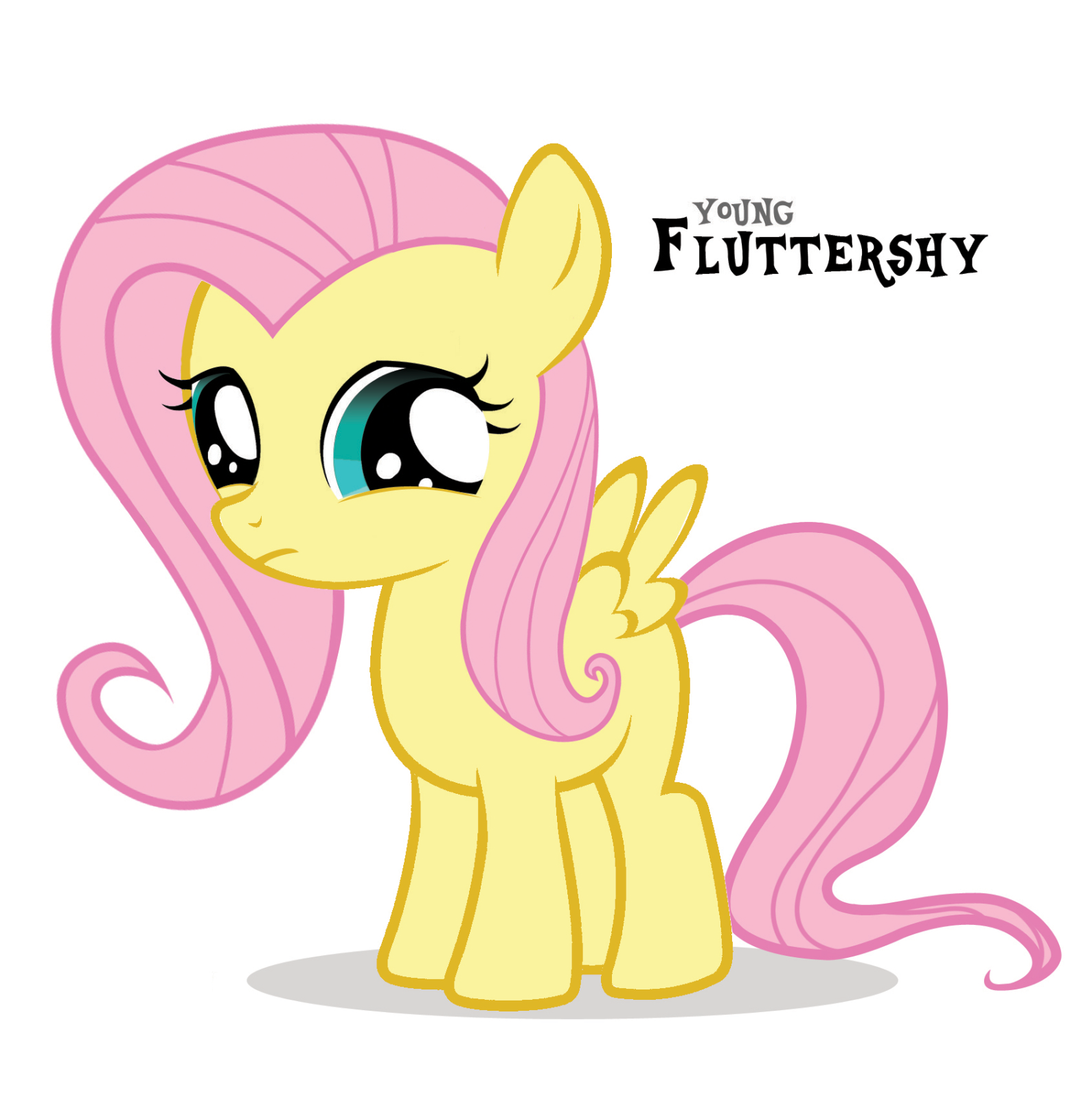 Ficheiro:4611 - Fluttershy Young.png