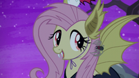 """Fluttershy """"Fuzzy Legs made the sticky wall"""" S5E21"""
