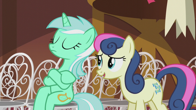 File:Sweetie Drops greeting Lyra S5E9.png