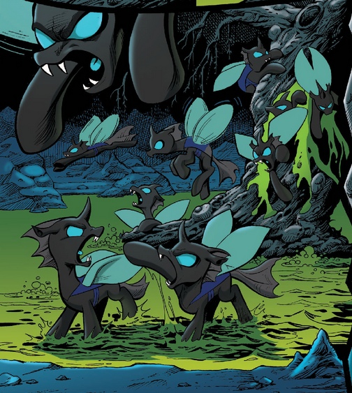 The Hive And Darkness And Vex Vs Mlp Fim Page 5