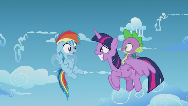 File:Rainbow Dash notices Twilight is an Alicorn S5E25.png