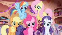 "Pinkie and friends ""she's so happy she's crying!"" S1E01"