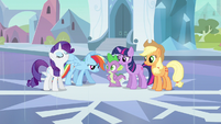 Rarity & Rainbow Dash progress report S3E1