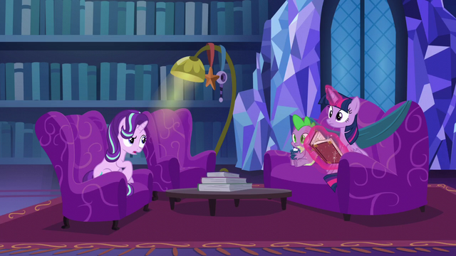 "File:Starlight ""doesn't like Hearth's Warming Eve"" S06E08.png"