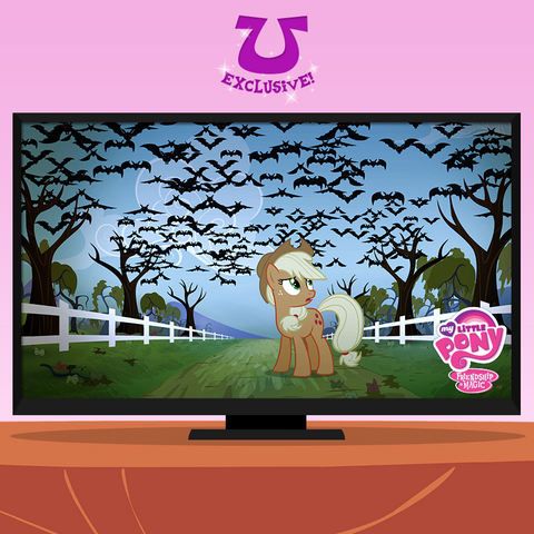 File:Applejack looking at the vampire fruit bats promotional S4E07.png