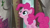 "Pinkie ""She mentioned finding answers at the library"" S5E8"