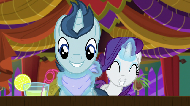 File:Rarity tying bib around polo pony's neck S6E12.png