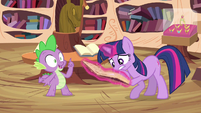 Spike offers idea S3E13