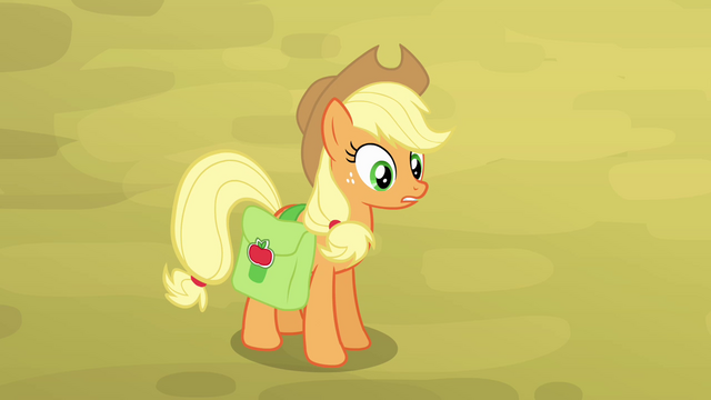 File:Applejack tells family to gather around S4E09.png