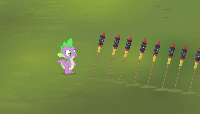 File:Spike standing next to the fireworks S4E24.png
