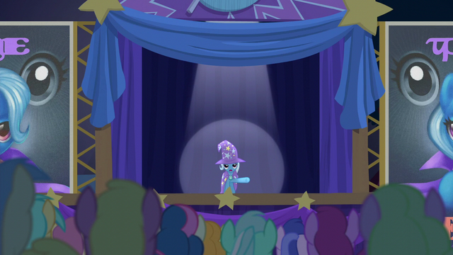 "File:Trixie unenthusiastic ""come one, come all"" S6E6.png"