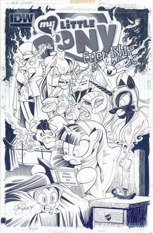 File:Comic issue 25 cover A uncolored.jpg