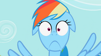 Rainbow Dash's Epic face S2E08