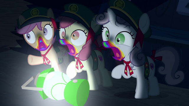 File:Cutie Mark Crusaders turning into zombies S6E15.png