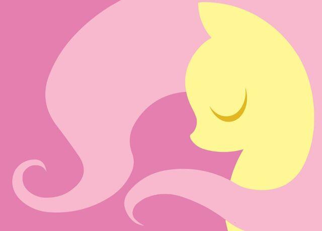 File:FANMADE Fluttershy Wallpaper.jpg