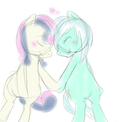 File:FANMADE Lyra x Sweetie Drops.png