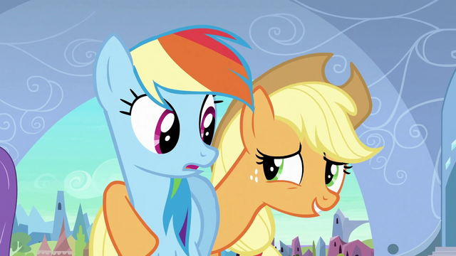 File:Applejack 'What I mean is' S3E2.png