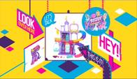 Friendship Rainbow Kingdom playset Boomerang promotion