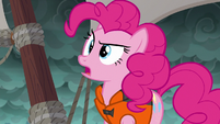 Pinkie Pie mistakes fight for tug-of-war S6E22