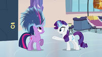 Twilight with porcupine hair S03E12