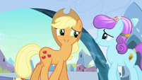 Applejack 'I hear ya' S3E2